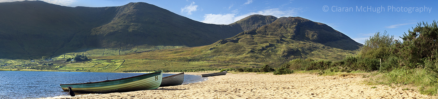 Ciaran McHugh Photography, Sligo: beach at lough nafooey