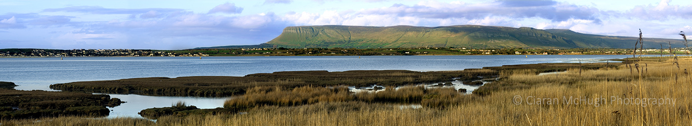 Ciaran McHugh Photography, Sligo: benbulben overlooking sligo bay