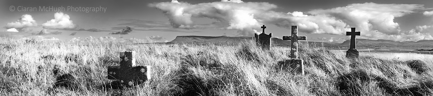 Ciaran McHugh Photography, Sligo: grave heaped on grave