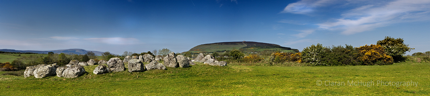 knocknarea from carrowmore