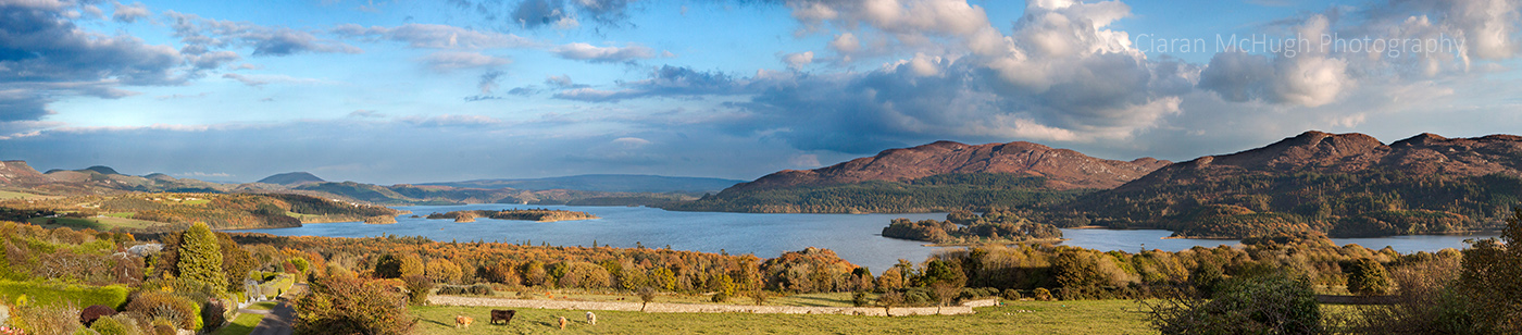 Ciaran McHugh Photography, Sligo: lough gill view
