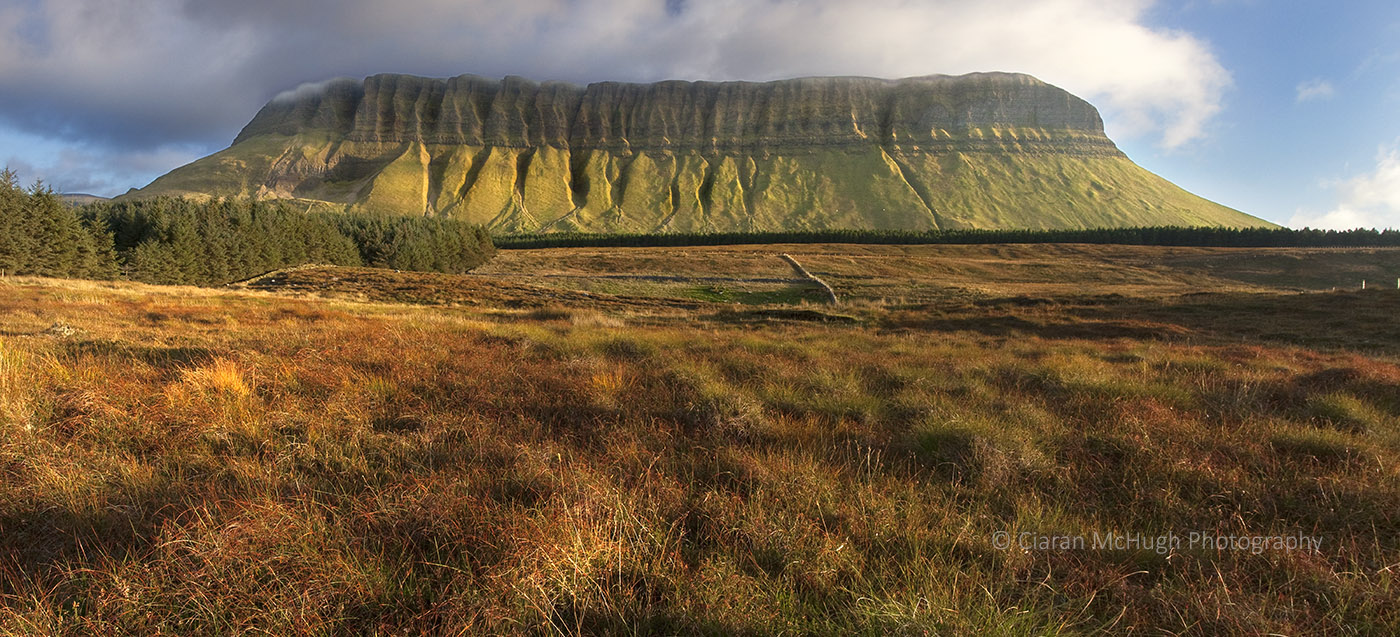 Ciaran McHugh Photography, Sligo: misty mountain top