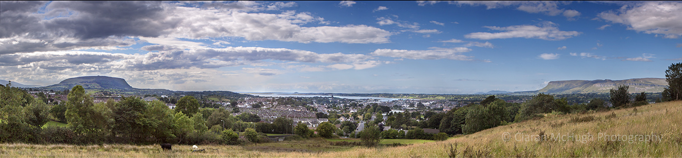 Ciaran McHugh Photography, Sligo: sligo from carins hill